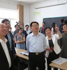 中华诗词学会领导我院考察指导