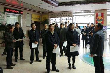 泰安市委第一巡回指导组来我院调研指导
